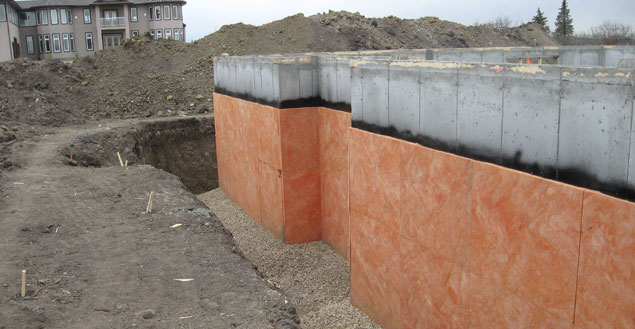 Waterproofing Existing Foundation Walls : Lety contruction foundation repair waterproofing